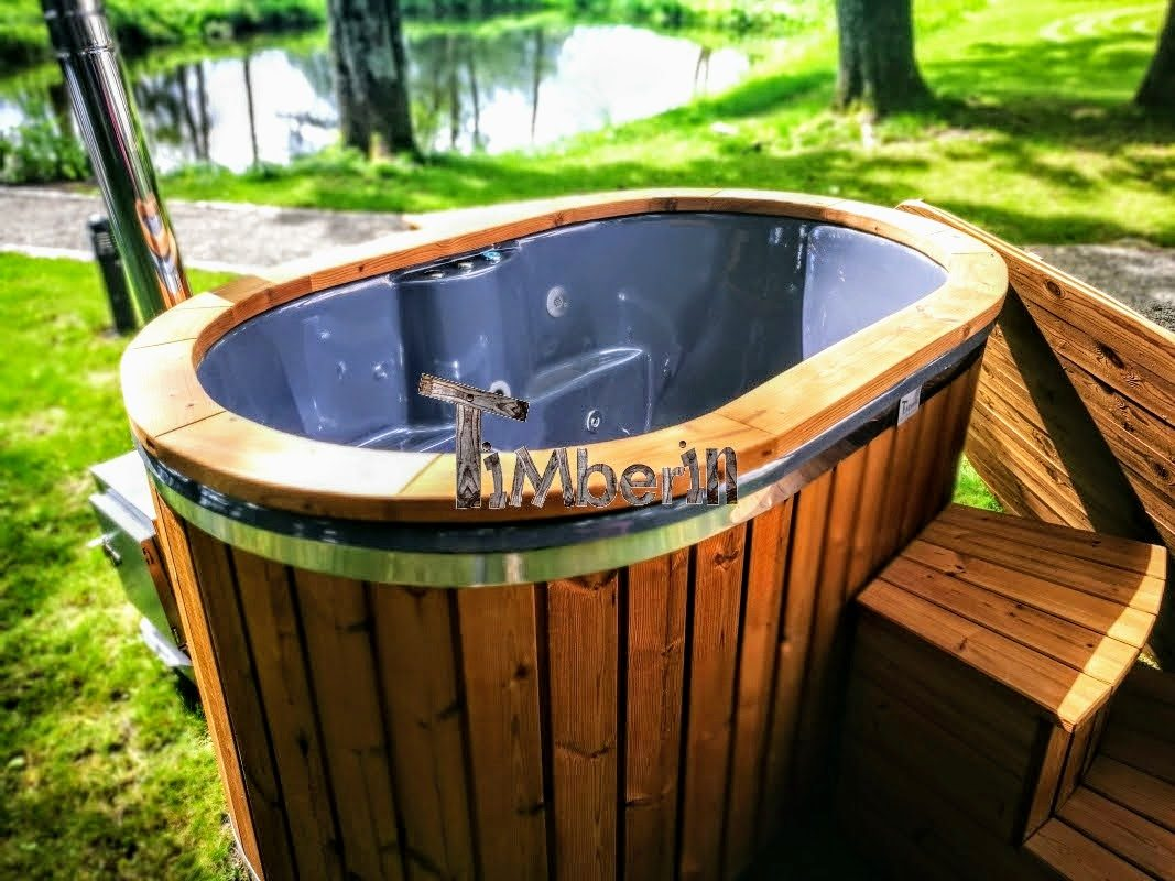 with person thermo for fired reviews electric hot tub cladding sale tubs wood timberin wooden