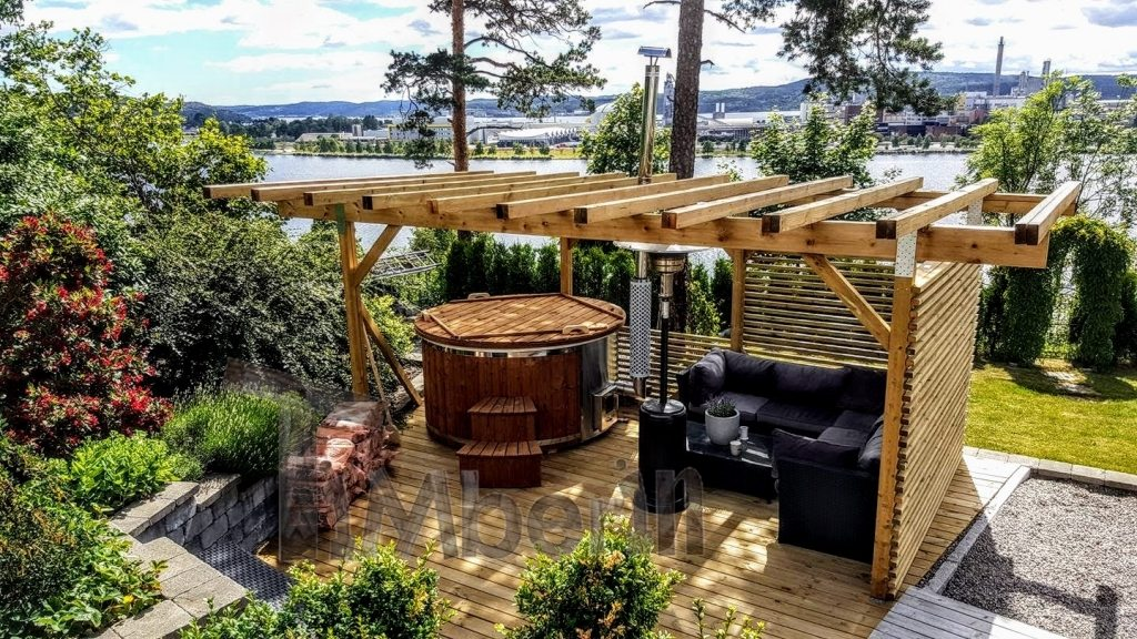 Jacuzzi hot tub project in Norway