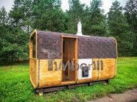Rectangular outdoor garden sauna (2)
