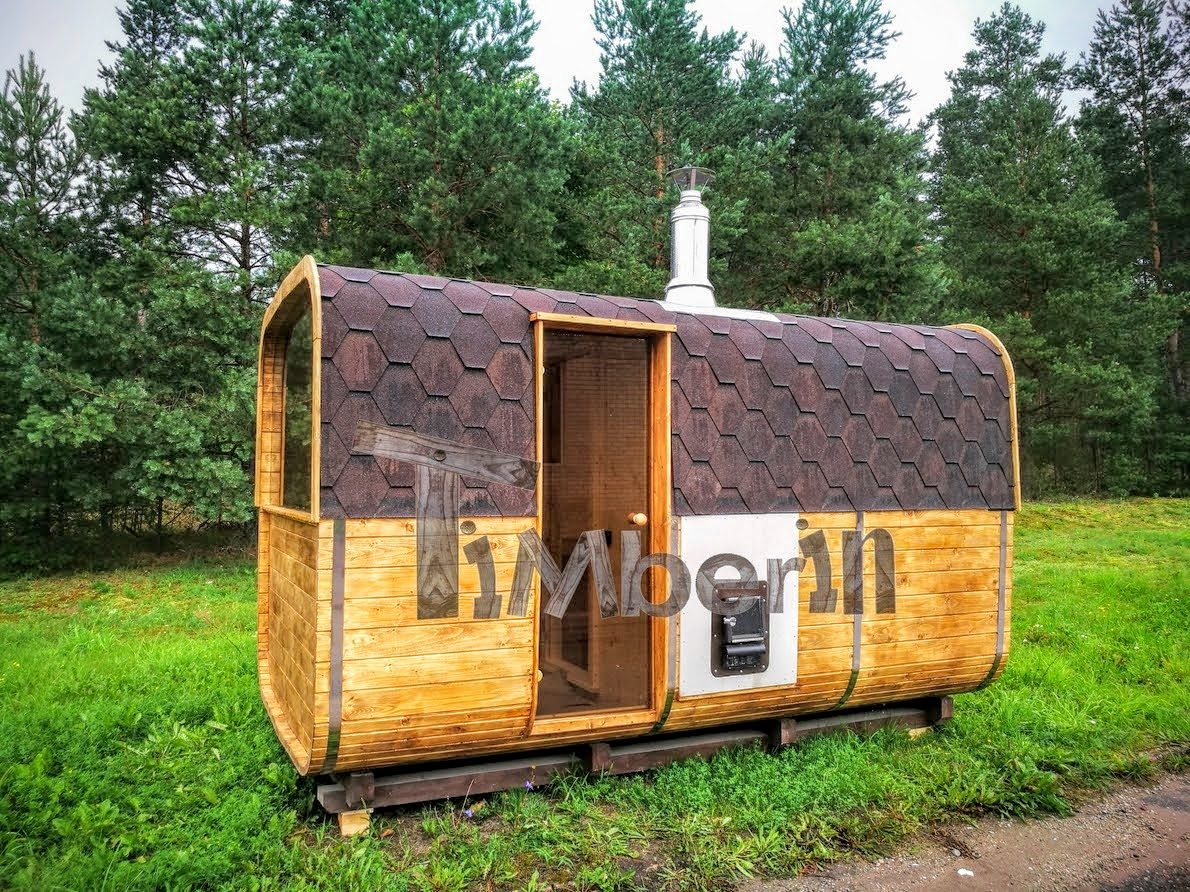 Rectangular outdoor garden sauna (2)