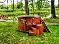 electricity heated outdoor hot tub 8 person