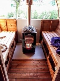 wood fired harvia m3 outdoor sauna heater
