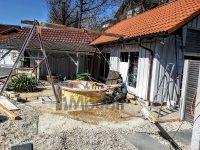 Sunken built in patio hot tub jacuzzi terrace model (1)