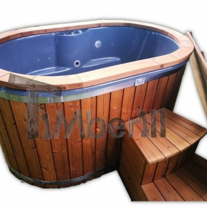 Outdoor hot tub whirlpool for 2 persons 2 seater